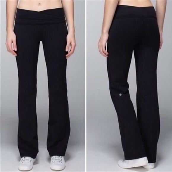 4099cb1258 lululemon athletica Pants | Lululemon Straight Leg Yoga | Poshmark